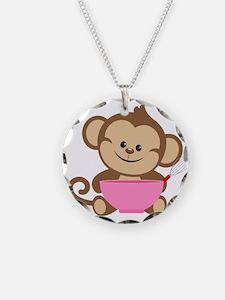 Baking Monkey Necklace