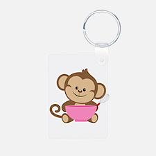 Baking Monkey Keychains