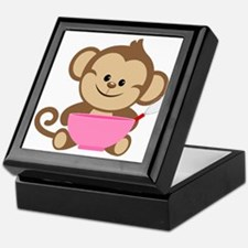 Baking Monkey Keepsake Box