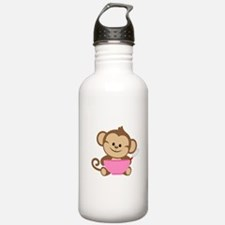Baking Monkey Water Bottle