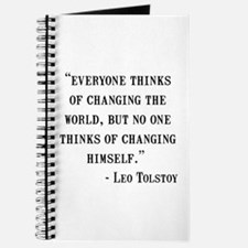 Leo Tolstoy Quote Journal
