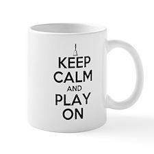 Keep Calm and Play On Handbells Mug