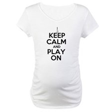 Keep Calm and Play On Handbells Shirt