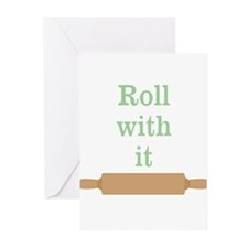 Roll With It Funny Greeting Cards (Pk of 10)