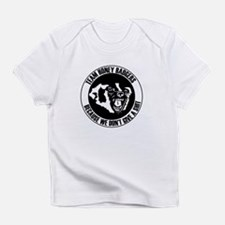 Team Honey Badgers Round Infant T-Shirt