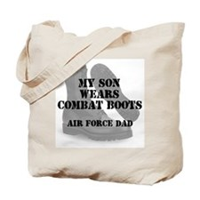AF Dad Son Wears CB Tote Bag