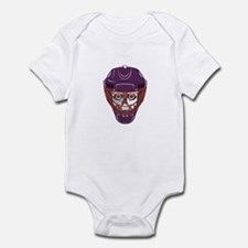 Hockey Mask Skull Infant Bodysuit