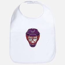 Hockey Mask Skull Bib