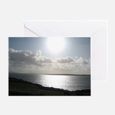 Late Afternoon on Dingle Greeting Card