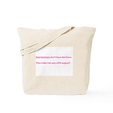 Real Feminists Tote Bag