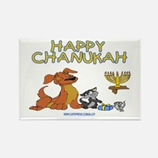 I Love Chanukah Rectangle Magnet