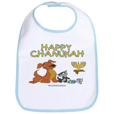 I Love Chanukah Bib