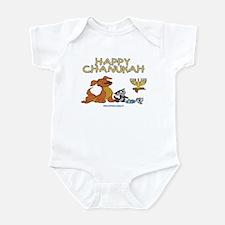 I Love Chanukah Infant Bodysuit
