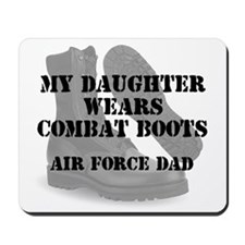 AF Dad Daughter Wears CB Mousepad