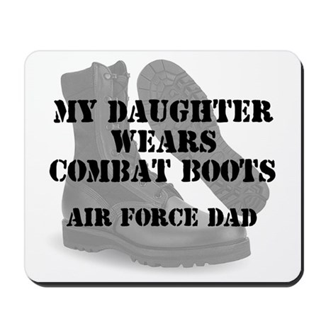 AF Dad Daughter Wears CB Mousepad
