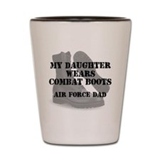 AF Dad Daughter Wears CB Shot Glass