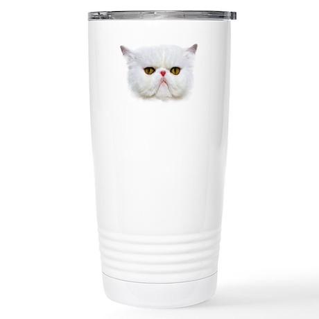 Grumpy Cat Stainless Steel Travel Mug