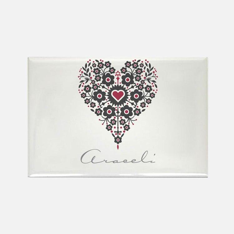 Love Araceli Rectangle Magnet