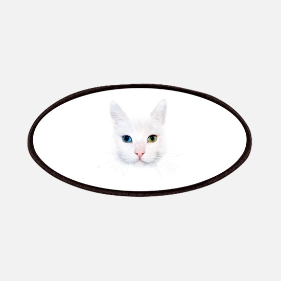 White Cat Patches