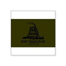Gadsden Flag Sticker (Subdued) Sticker
