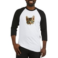 Kitty Cat Face Baseball Jersey