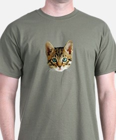 Kitty Cat Face T-Shirt
