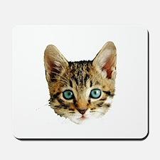 Kitty Cat Face Mousepad