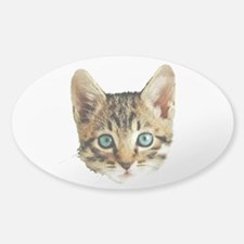 Kitty Cat Face Decal