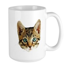 Kitty Cat Face Mug