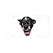 Vicious Chihuahua Aluminum License Plate