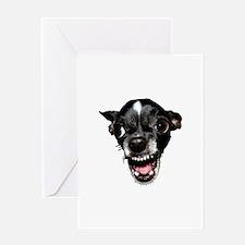 Vicious Chihuahua Greeting Card
