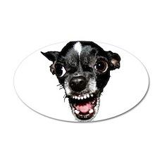 Vicious Chihuahua Wall Decal