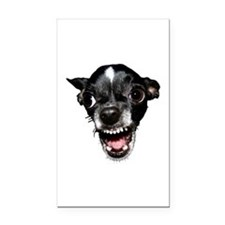 Vicious Chihuahua Rectangle Car Magnet