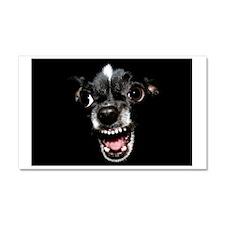 Vicious Chihuahua Car Magnet 20 x 12