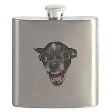 Vicious Chihuahua Flask