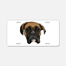 Boxer Aluminum License Plate