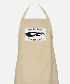 Save The Whales 1 BBQ Apron