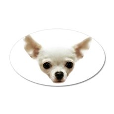 White Chihuahua Wall Decal