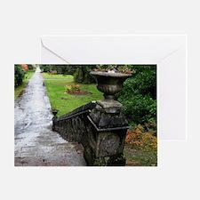 Ashford Castle Gardens, Galway Greeting Card