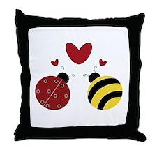 Cute Affection Throw Pillow