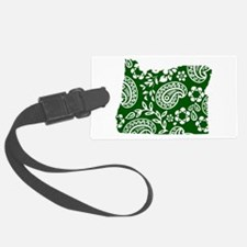 Paisley Luggage Tag