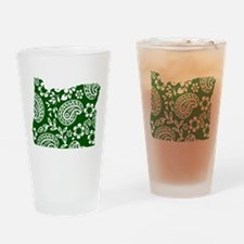 Paisley Drinking Glass