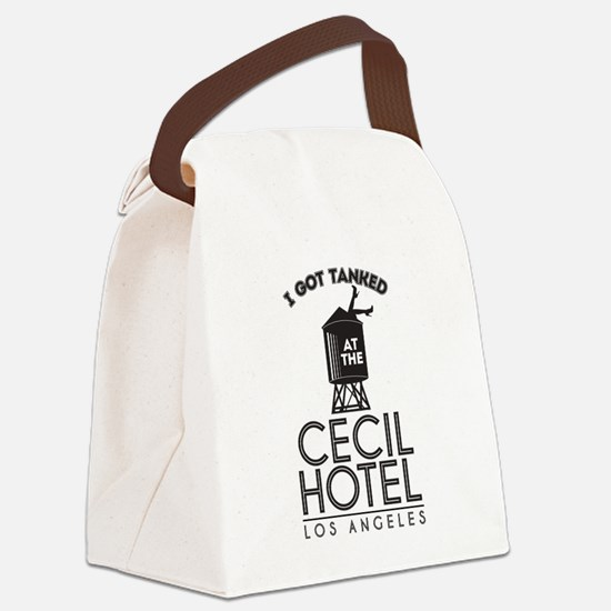 Cecil Hotel Canvas Lunch Bag