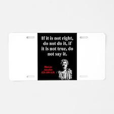 If It Is Not Right - Marcus Aurelius Aluminum Lice