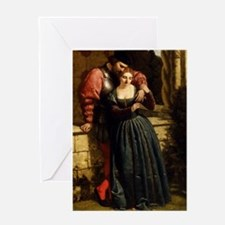 The Betrothal, by F.R. Pickersgill Greeting Card