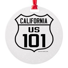 US Route 101 - California Ornament