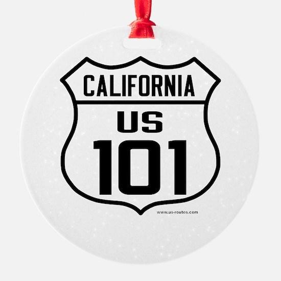 US Route 101 - California Ornament