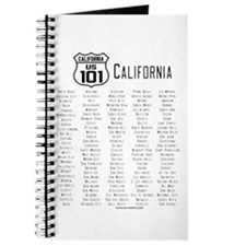 US Route 101 - California Journal with cities