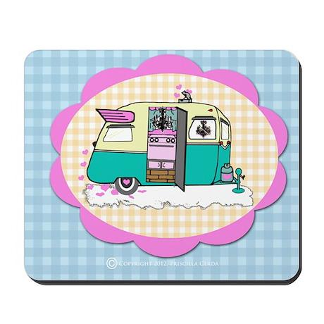 lil' vintage trailer mousepad