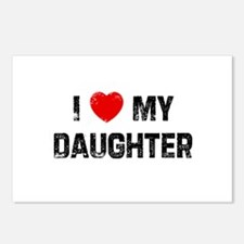 I * My Daughter Postcards (Package of 8)